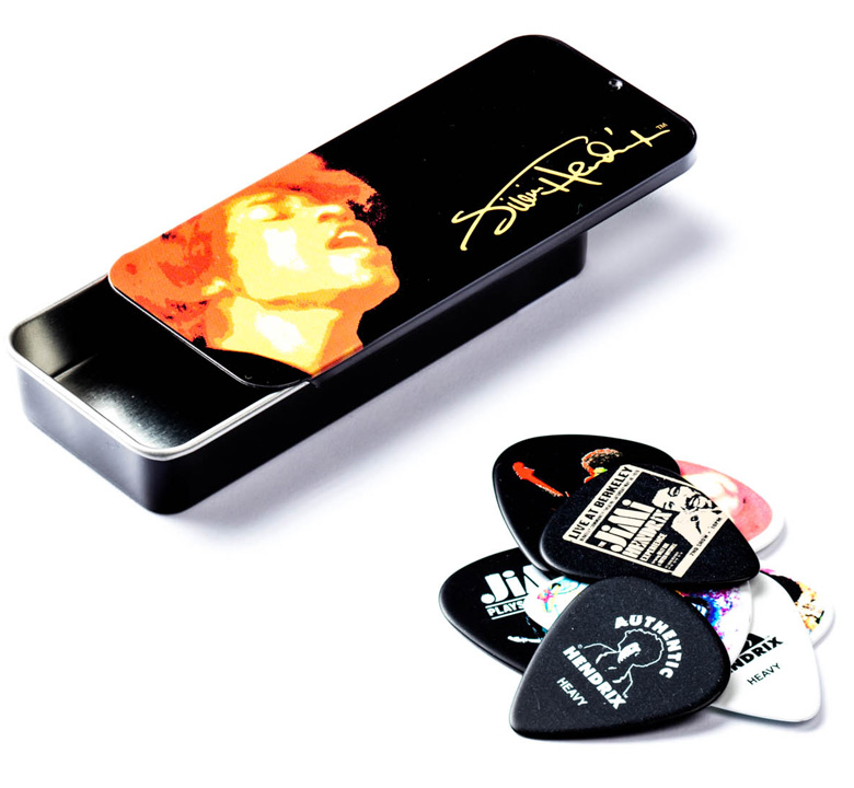 [Jim Dunlop] Jimi Hendrix Pick Tin (Electric Ladyland) (JH-PT03H)