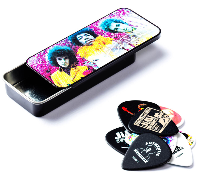 [Jim Dunlop] Jimi Hendrix Pick Tin (Are You Experienced?) (JH-PT01M)