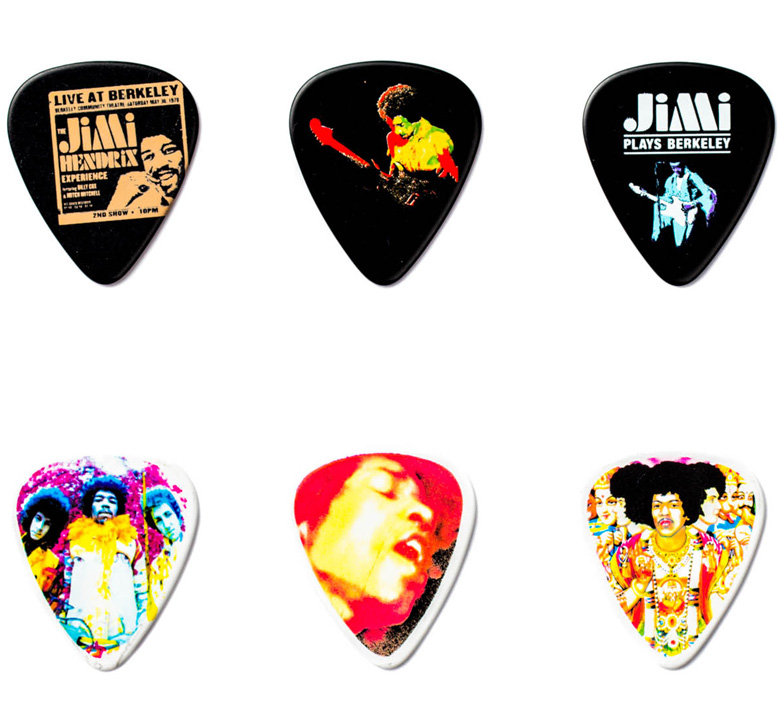 [Jim Dunlop] Jimi Hendrix Pick Tin (Band of Gypsys) (JH-PT04H)