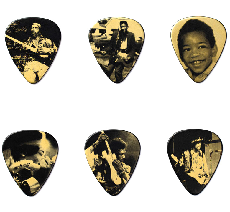 [Jim Dunlop] Jimi Hendrix Pick Tin (West Coast Seattle Boy) (JH-PT10H)