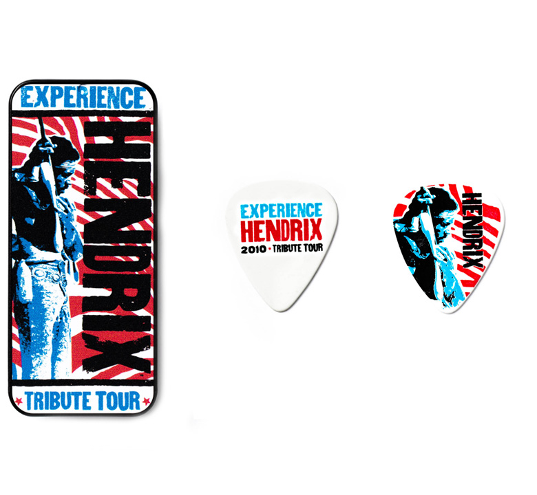 [Jim Dunlop] Jimi Hendrix Pick Tin (Tribute Tour) (JH-PT09M)