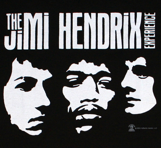 The Jimi Hendrix Experience / Three Faces Tee