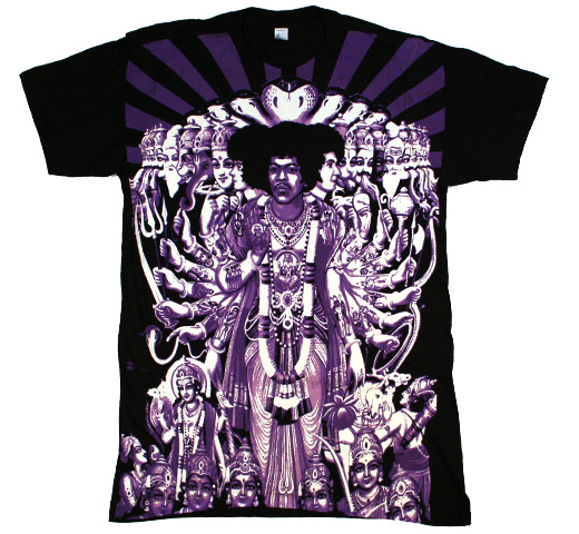 The Jimi Hendrix Experience / Axis: Bold As Love Big Print Tee