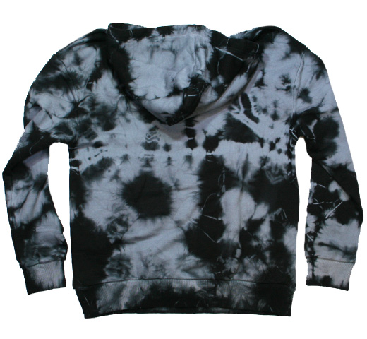 【Worn By】 Are You Experienced Pullover Hood (Black Tie Dye)