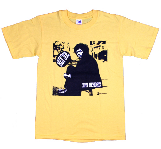 Jimi Hendrix / Hey Joe Tee (Yellow)