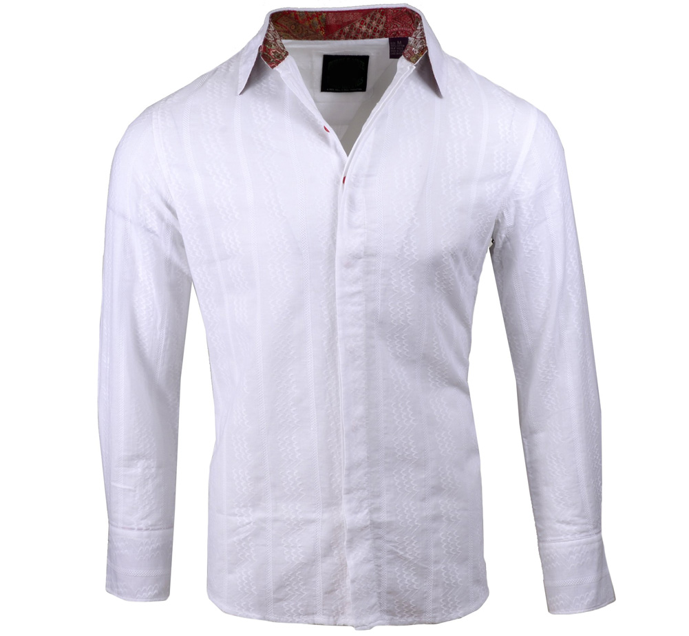[JIMI HENDRIX COLLECTION] Dolly Dagger Dress Shirt (White) [RRJH1126W]