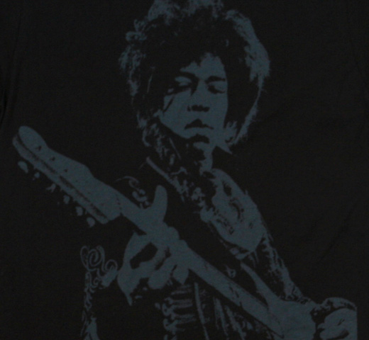 Jimi Hendrix / Shadow Tee (Black)
