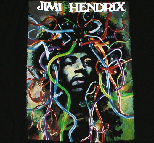 Jimi Hendrix / Wired Face Tee