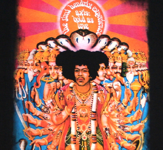 The Jimi Hendrix Experience / Axis: Bold As Love Tee (Black)