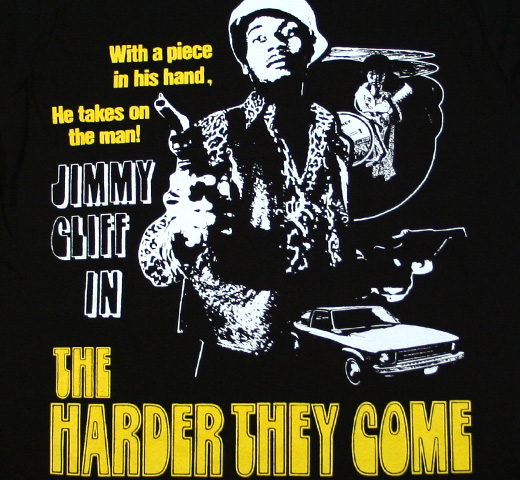 Jimmy Cliff / The Harder They Come Tee (Black)