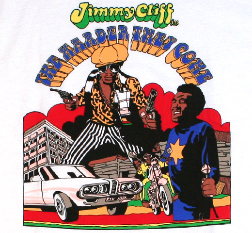 【Worn Free】 Jimmy Cliff / The Harder They Come Tee (White)