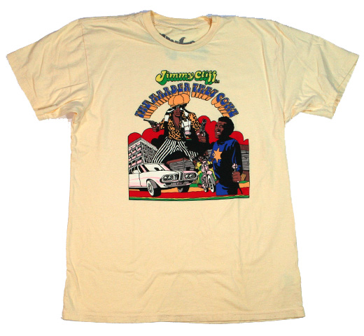 【Worn Free】 Jimmy Cliff / The Harder They Come Tee (Yellow)