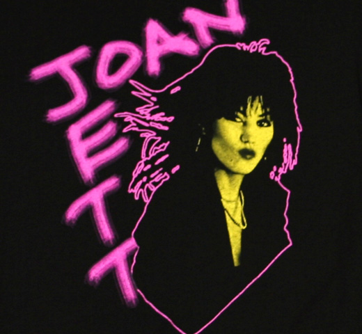 Joan Jett / Photo Tee (Womens)