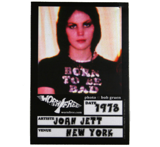 【Worn Free】 Joan Jett / Born to be Bad Tee