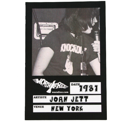 【Worn Free】 Joan Jett / Knockout Tee