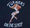 【Worn Free】 Joan Jett / Turners Tee (Dark Navy)
