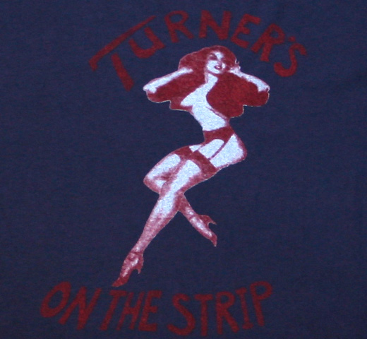 【Worn Free】 Joan Jett / Turners Tee (Navy)