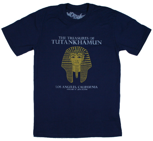 【Worn Free】 Joe Cocker / Tutankhamun Tee (Navy)