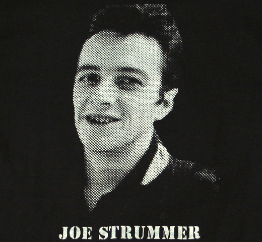 Joe Strummer / Potrait Tee