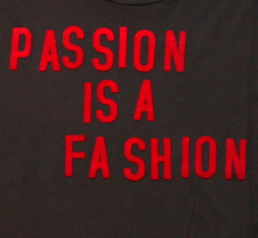【Worn Free】 Joe Strummer / Passion is a Fassion Tee (Black)