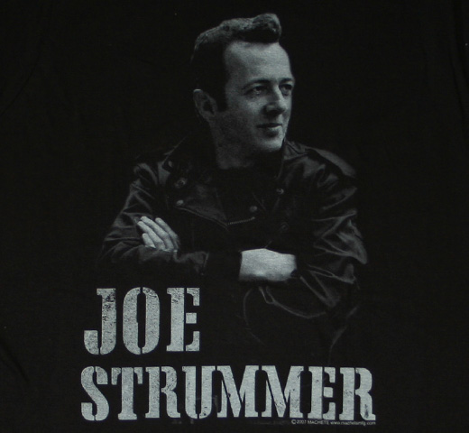 Joe Strummer / Portrait Tee (Leather Jacket)