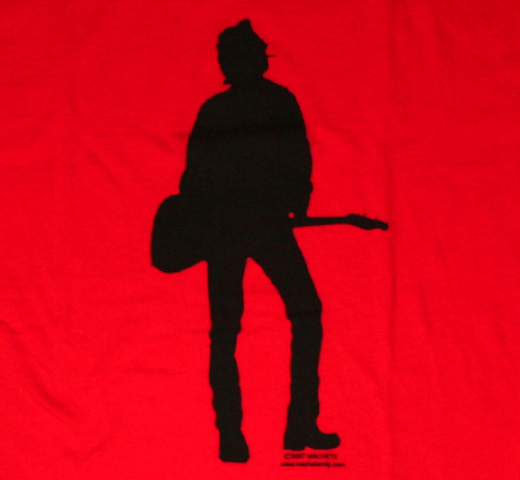 Joe Strummer / Silhouette Tee (Red)
