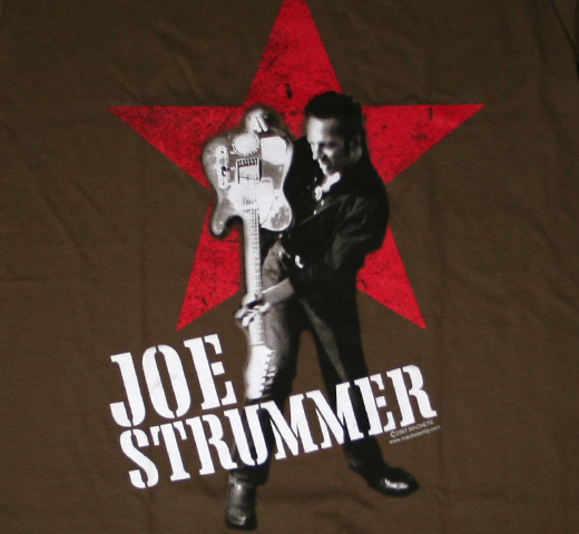 Joe Strummer / Star Tee (Army Green)