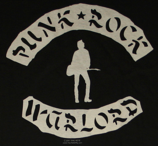 Joe Strummer / Punk Rock Warlord Tee