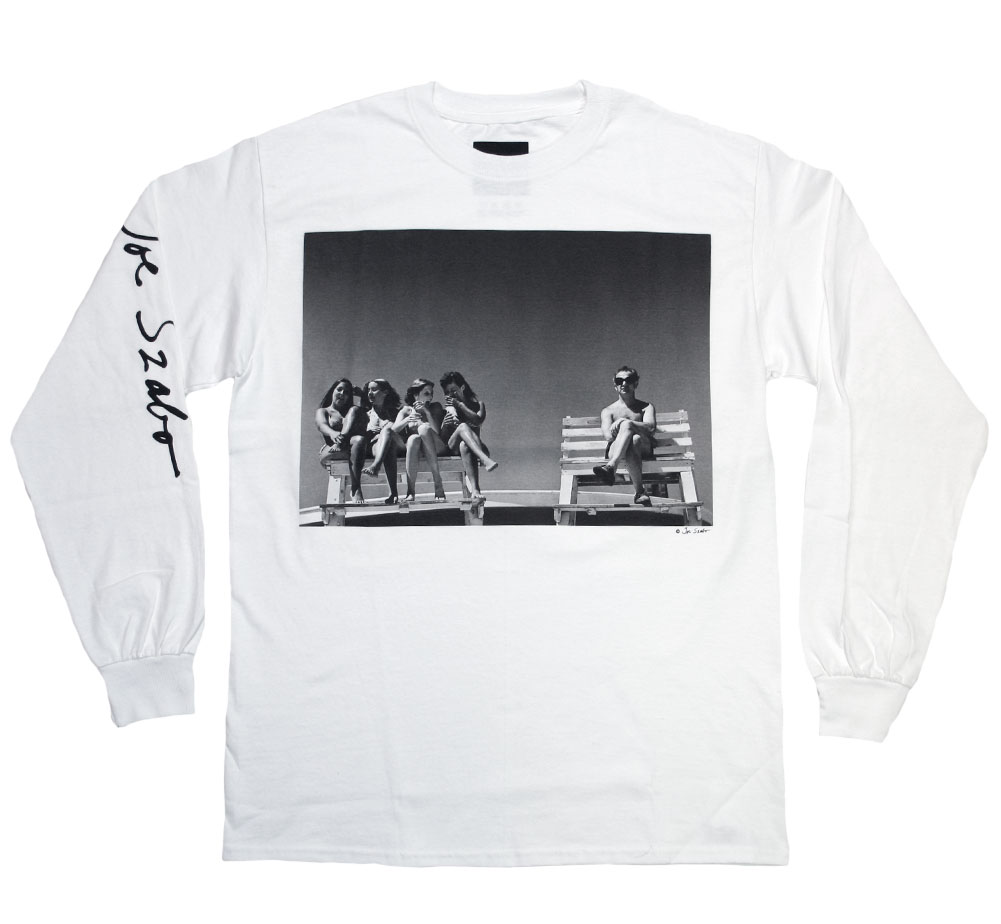 [Joe Szabo] ALMOST GROWN Long Sleeved Tee (White)