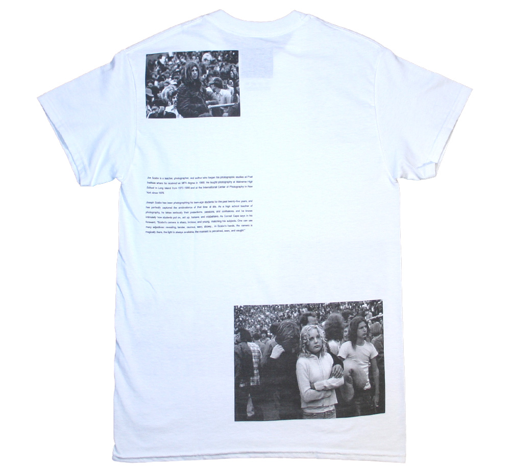 【Joe Szabo】 Rolling Stones Fans Allover Tee (White)