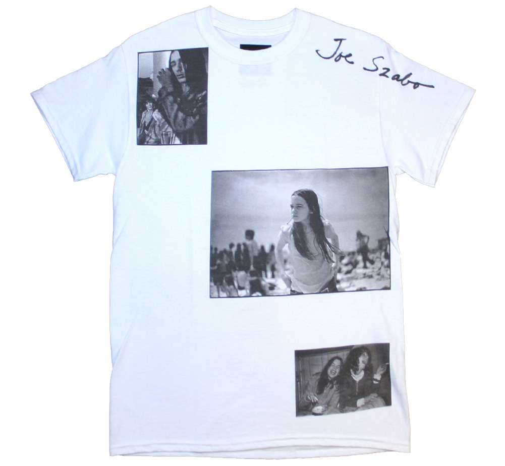 【Joe Szabo】 Teenager Allover Tee (White)