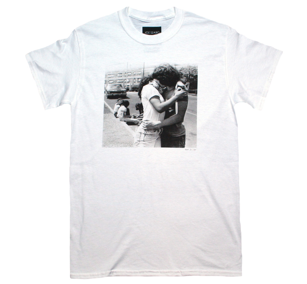 【Joe Szabo】 Kiss Tee (White)