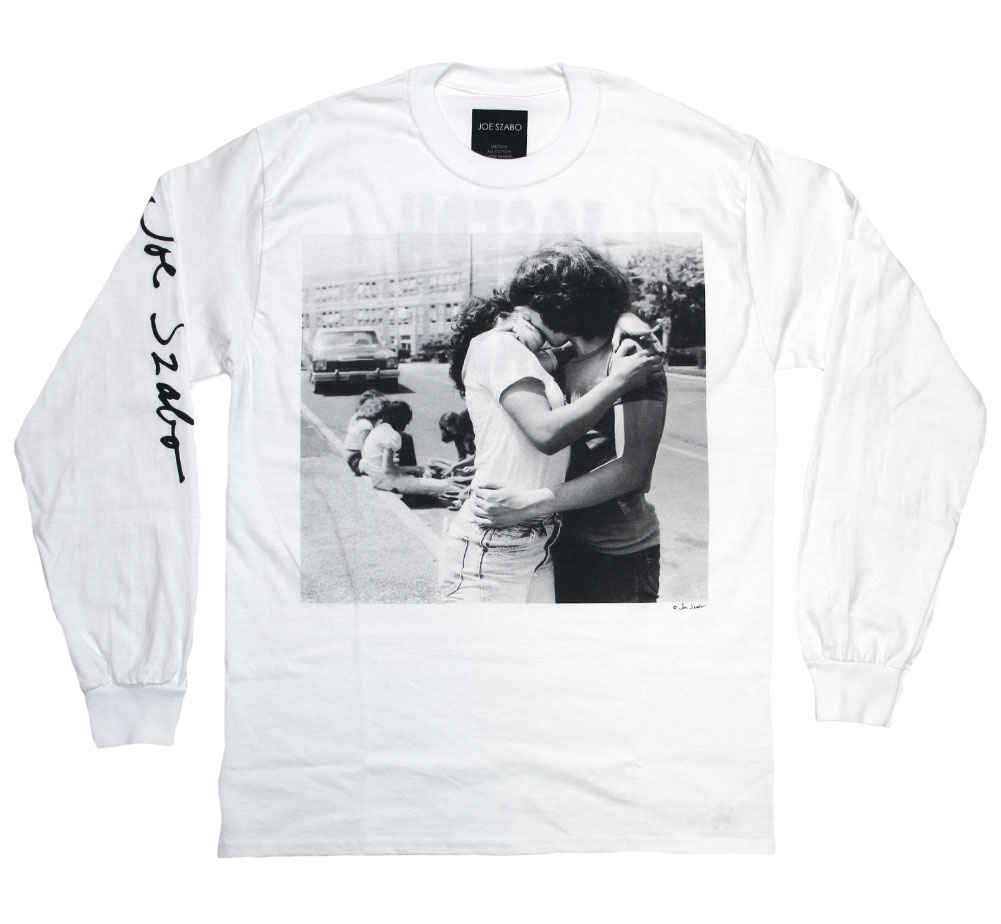 [Joe Szabo] KISS Long Sleeved Tee (White)