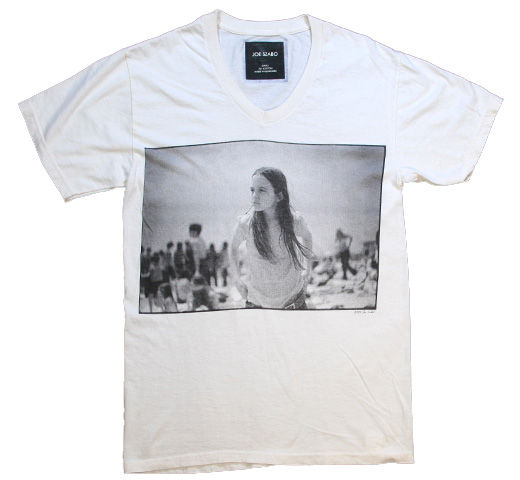 【Joe Szabo】 Priscilla V-neck Tee (Off White)