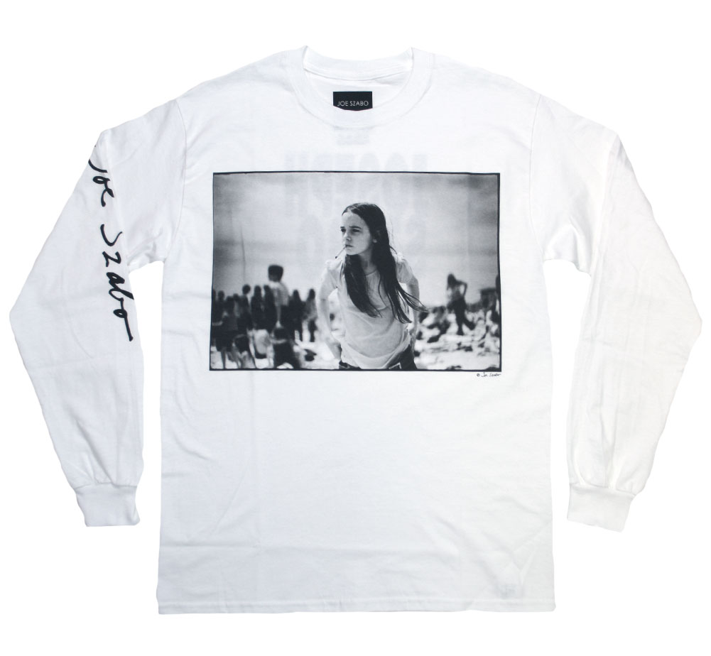 [Joe Szabo] PRISCILLA Long Sleeved Tee (White)