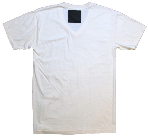【Joe Szabo】 Chris at Beach V-neck Tee (Off White)