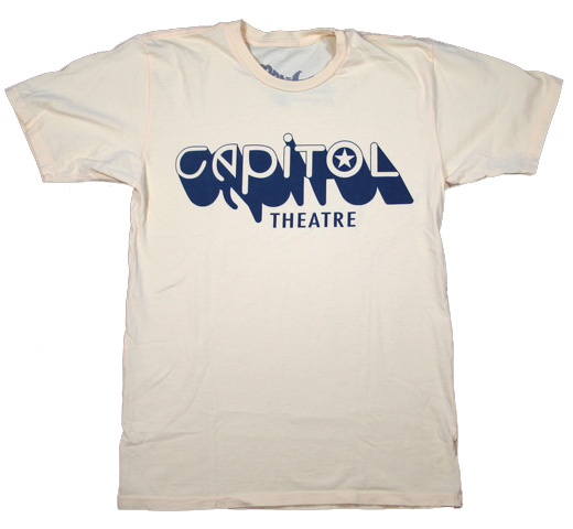 【Worn Free】 Joey Ramone / Capitol Thetre Tee (Light Yellow)