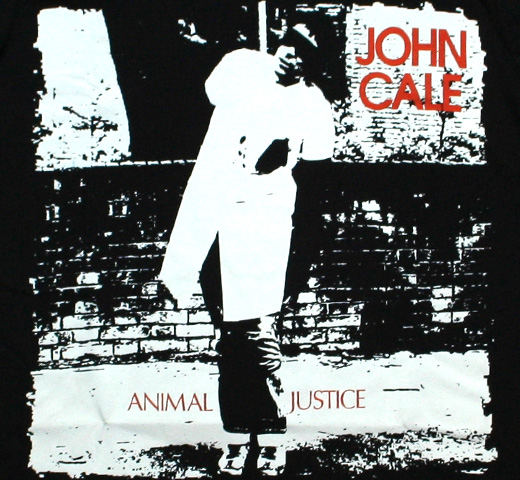 John Cale / Animal Justice Tee (Black)