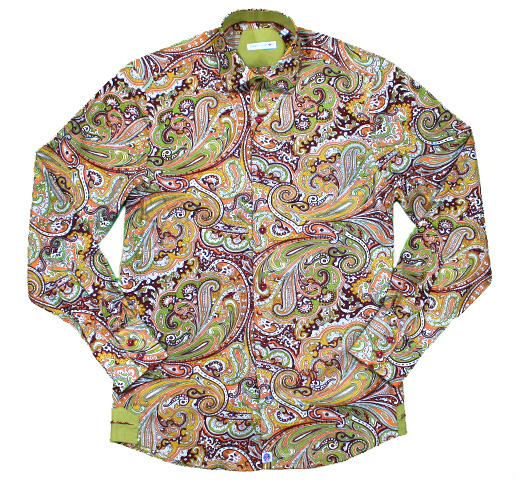 John Lennon Dress Shirt (Paisley) [JL145]