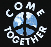 【Worn Free】 John Lennon / Come Together Tee 2 (Black)