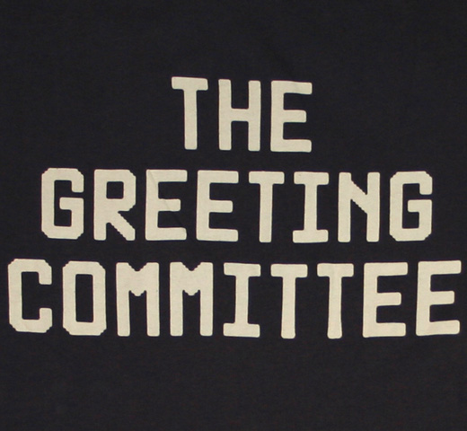 【Worn Free】 John Lennon / The Greeting Committee Tee (Black)