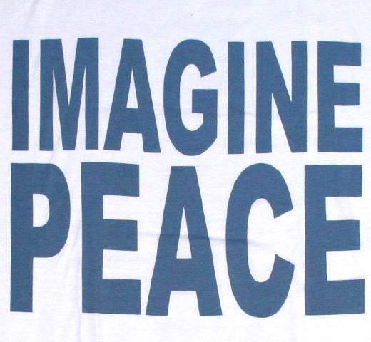 John Lennon / Imagine Peace Tee (White)