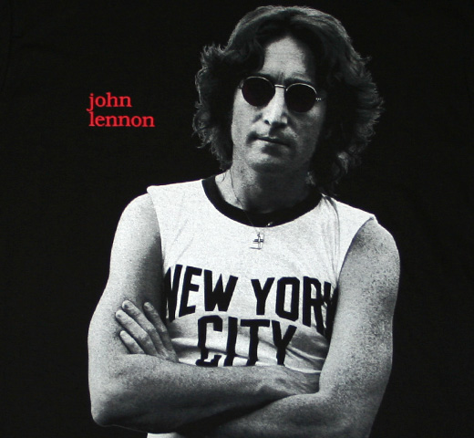 John Lennon / New York City Portrait Tee