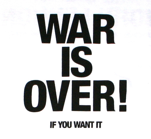 John Lennon / War Is Over! Tee (White)