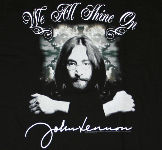 John Lennon / We All Shine On Tee