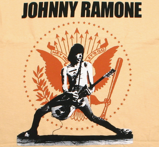 Johnny Ramone / Rockin n Seal Tee (Vegas Gold)