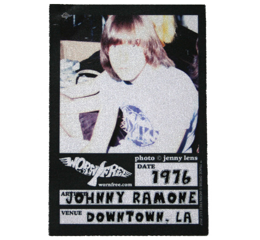 【Worn Free】 Johnny Ramone / Rocks Tee