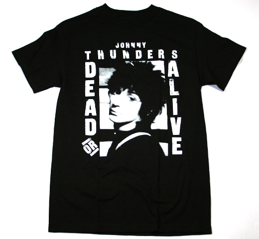 Johnny Thunders / Dead Or Alive Tee