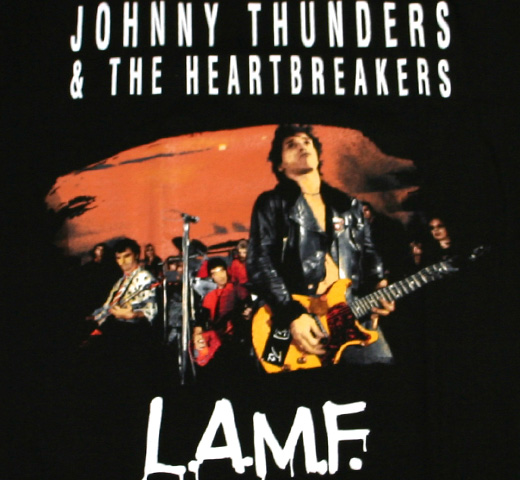 Johnny Thunders & The Heartbreakers / L.A.M.F. Live Tee