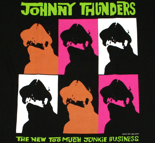 Johnny Thunders / The New Too Much Junkie Business Tee